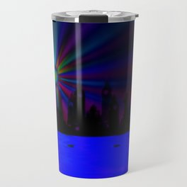 Dreaming all around the world ... Travel Mug
