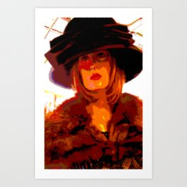 Cotton Club Debutante Art Print