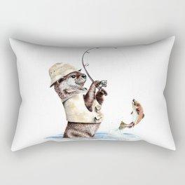 Natures Fisherman Rectangular Pillow
