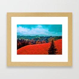 Landscape Print Framed Art Print