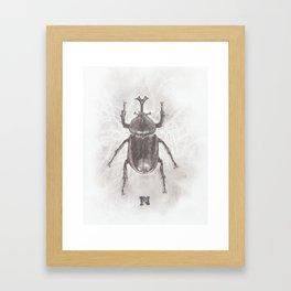 Carapace Framed Art Print