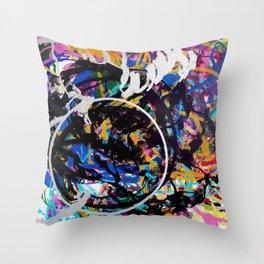Circumago 39 Throw Pillow