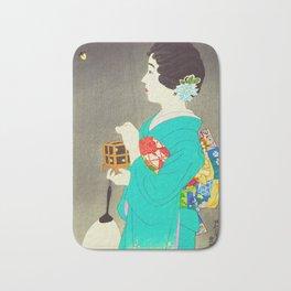 Mushikago - Insect Cage - Japanese Art Bath Mat