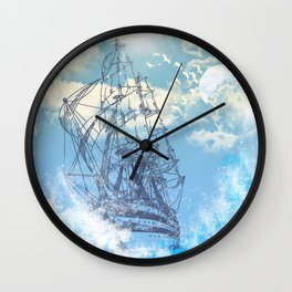 TheSea Wall Clock