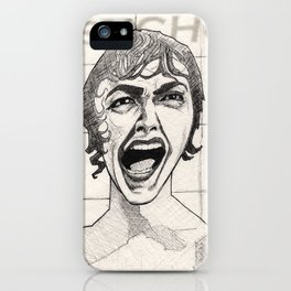 The Shower Scene iPhone Case