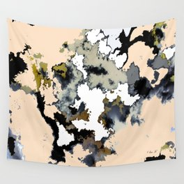 Pink Marble Wall Tapestry