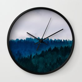 Into the Wilderness Wall Clock