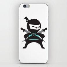 Ninja (with heart) iPhone Skin