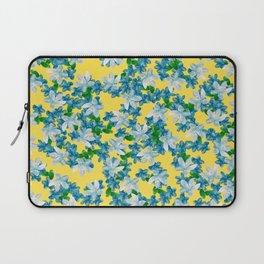 Summer Flowers Yellow Laptop Sleeve