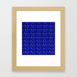 Blue Roses 1.1 Framed Art Print