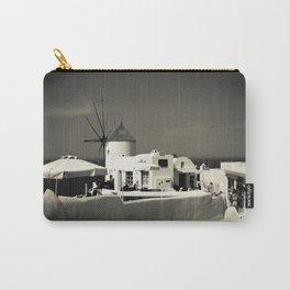 Santorini, Greece Carry-All Pouch
