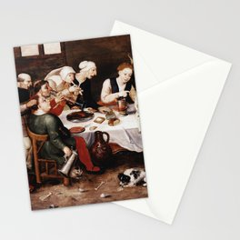 Hieronymus Bosch - The Bacchus Singers Stationery Cards
