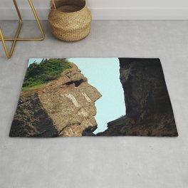 Indian Head Rock Rug