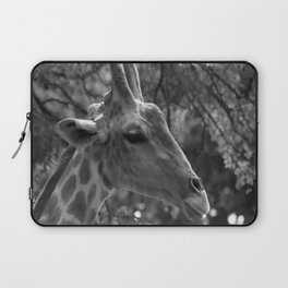 Giraffe Portrait Laptop Sleeve