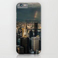 Manhattan - great sky iPhone 6s Slim Case