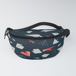 Paper airplanes Fanny Pack