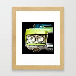 Green Machine! Left Side Version Framed Art Print