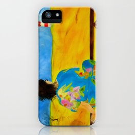 Fields of gold iPhone Case