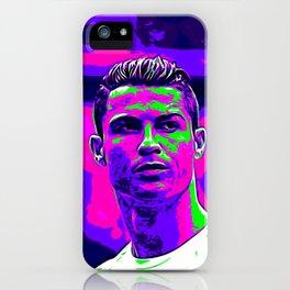 Ronaldo - Neon iPhone Case