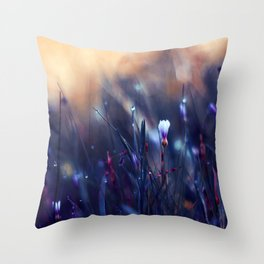 Lonely in Beauty Throw Pillow