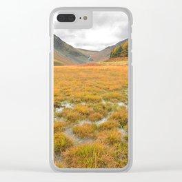 Autumn in Glendalough Clear iPhone Case
