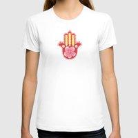 hamsa T-shirts featuring Hamsa by Moirarae