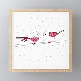 Sweater Birds Framed Mini Art Print