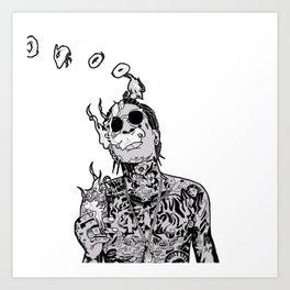 Wiz Art Print