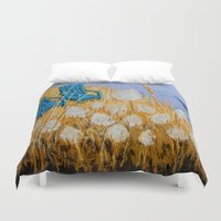 couple Duvet Covers featuring COUPLE by Olga Krokhicheva
