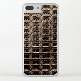 Guitar Amp Threading Clear iPhone Case