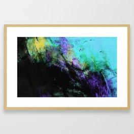 STORMY BLACK Framed Art Print