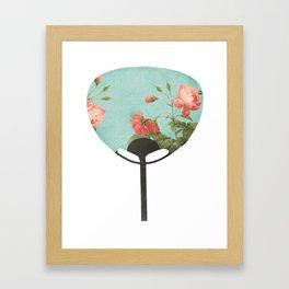 Vintage Fan Framed Art Print