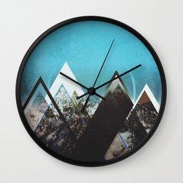 Fractions B23 Wall Clock