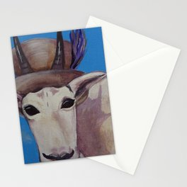 A Tragically Hip Mountain Goat Stationery Cards