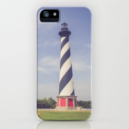 Cape Hatteras Lighthouse (3) iPhone Case