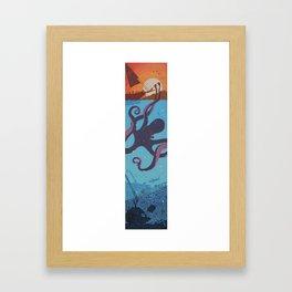 sing of the sirens Framed Art Print