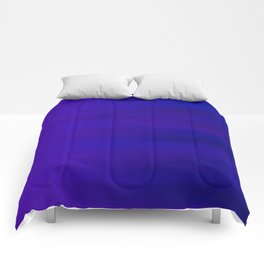 Ultra Violet to Indigo Blue Ombre Comforters