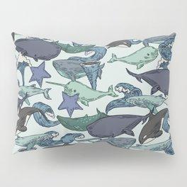 Very Whale! Pillow Sham