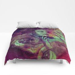 """Siren universe nebula"" Comforters"