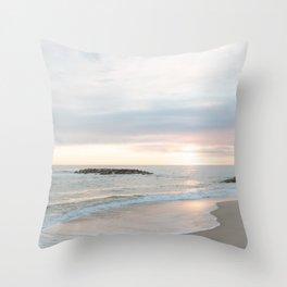 A Gentle Dawn Throw Pillow