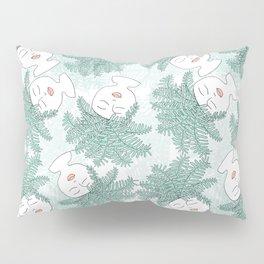 Fern-tastic Girls in Sage Green Pillow Sham