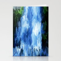 waterfall Stationery Cards featuring Waterfall by Paul Kimble