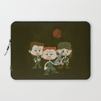 military Laptop Sleeves featuring The Military by DoodleHeadDee