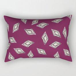 Rhombus jewel Rectangular Pillow