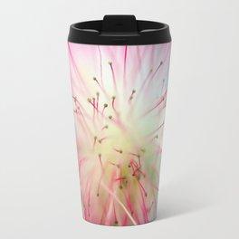 Hot Pink Burst Travel Mug