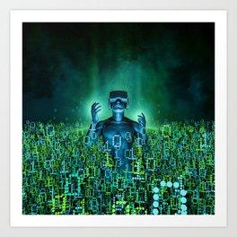 Virtual Dawn Art Print