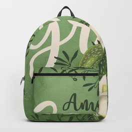 Amazing Grace (green) Backpack