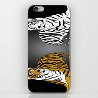 tigers iPhone & iPod Skins featuring Tigers by Christina Gulbrandsen