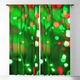 Christmas Lights Blackout Curtain