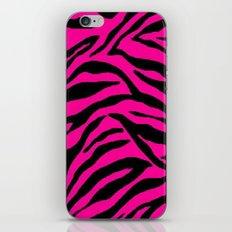 Pink Zebra iPhone & iPod Skin